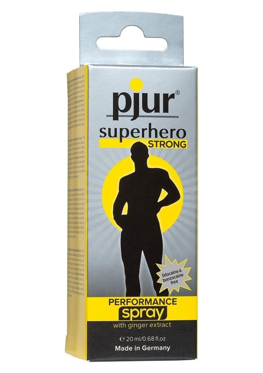 Пролонгатор длительного действия pjur SUPERHERO Strong Spray - фото 10685