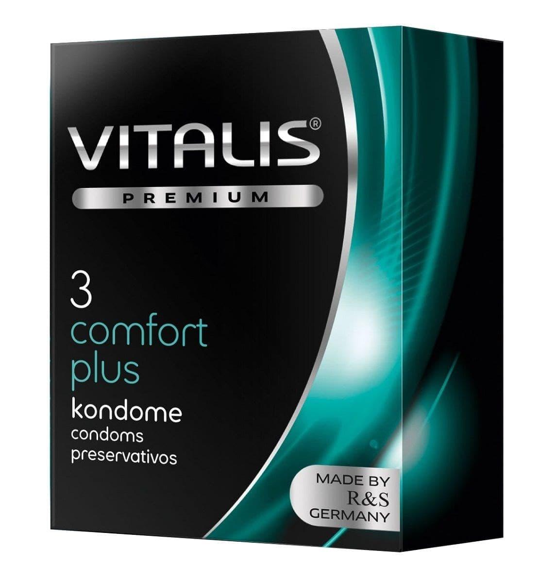 Презервативы VITALIS PREMIUM comfort plus - фото 10717