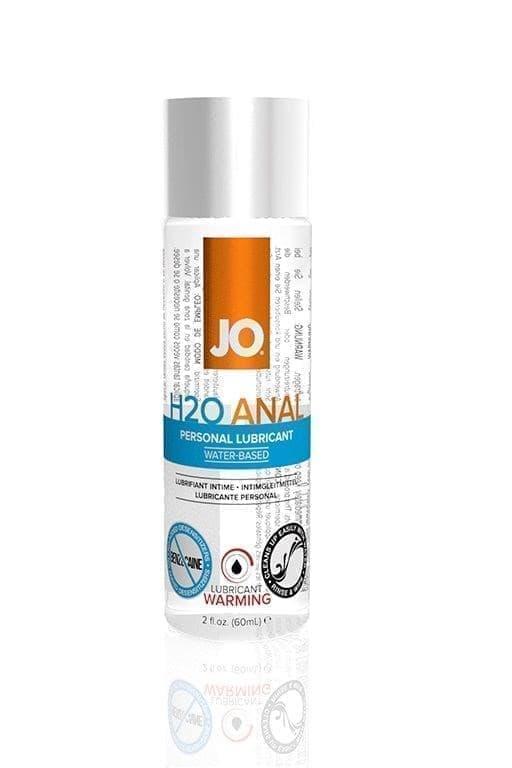 Анальный лубрикант на водной основе JO Anal H2O Warming - фото 11039