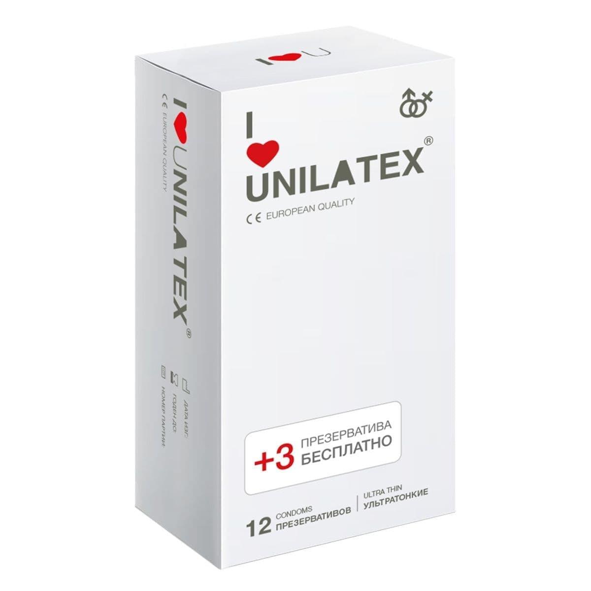 Презервативы Unilatex Ultra Thin - фото 11091