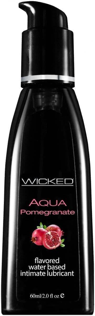 Лубрикант Wicked Aqua Pomegranate - фото 11172