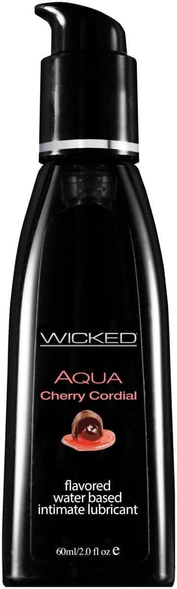 Лубрикант Wicked Aqua Cherry Cordial - фото 11173