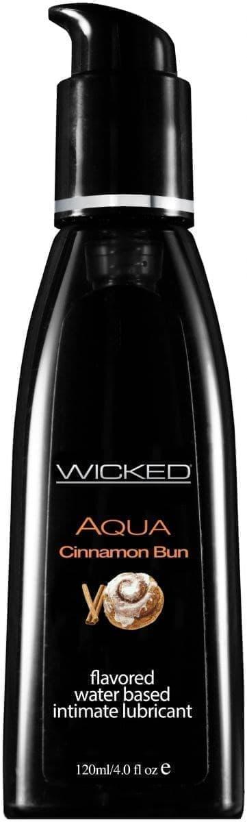 Лубрикант Wicked Aqua Cinnamon Bun - фото 11176
