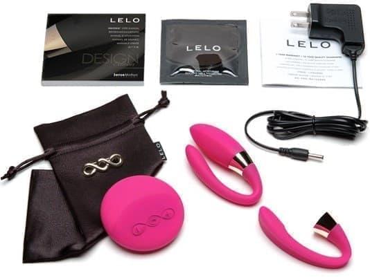 Вибратор для пар Lelo Tiani 2 Design Edition Deep Rose - фото 11953