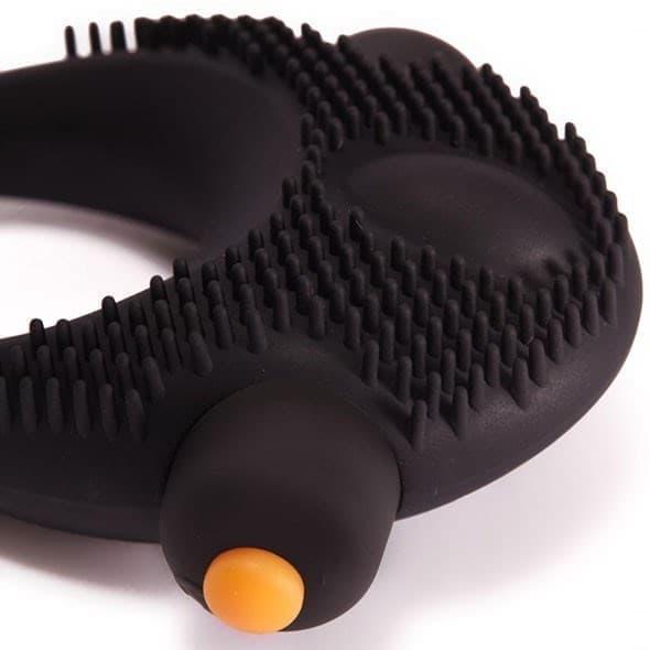 Эрекционное виброкольцо со стимуляцией клитора PornHub - фото 12311