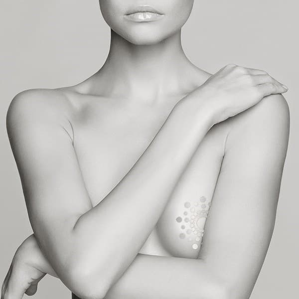 Временная татуировка на грудь Mimi Skin - фото 12853
