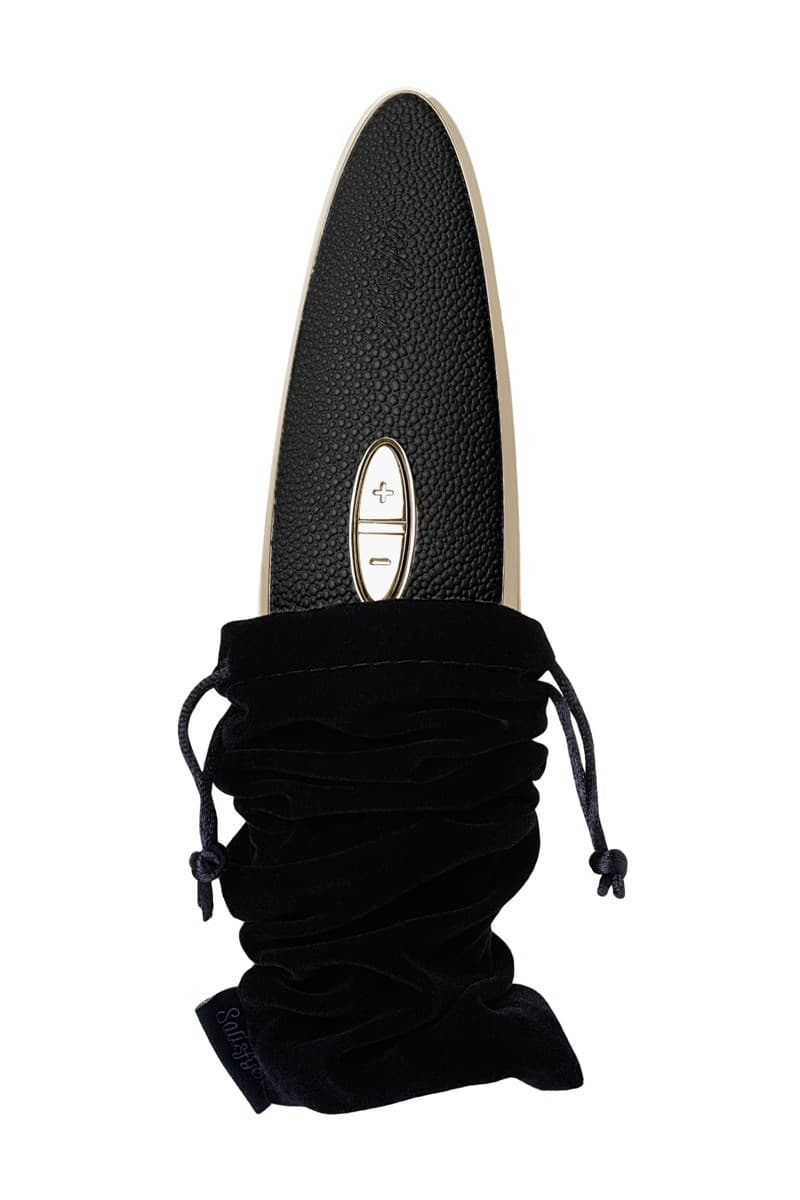 Вибро-вакуумно-волновой стимулятор Satisfyer Luxury Haute Couture - фото 16737