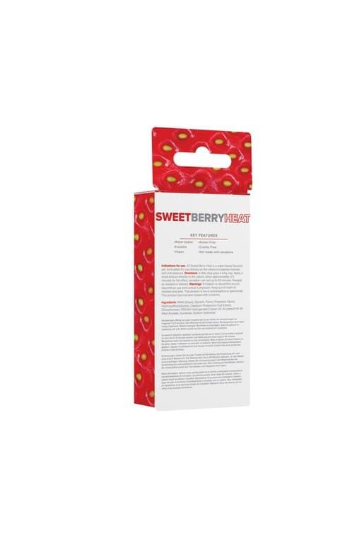 Стимулирующий гель со вкусом клубники JO Sweet Berry Heart - фото 17183