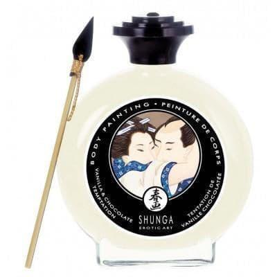 Shunga, Крем-краска Для Тела c Ароматом Ванили - фото 17626