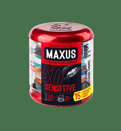 MAXUS Sensitive, Презервативы - фото 17921