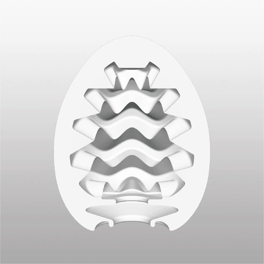 Tenga-Egg Cool, Мастурбатор-яйцо - фото 18606
