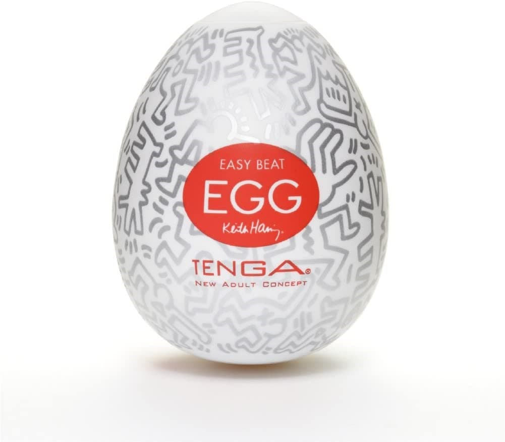 Tenga&Keith Haring Egg Party, Мастурбатор-яйцо - фото 18613