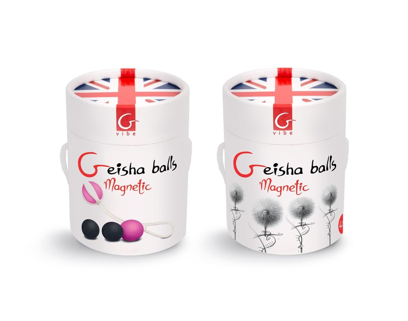 Gvibe Geisha Balls Magnetiс, Вагинальные Шарики - фото 18651