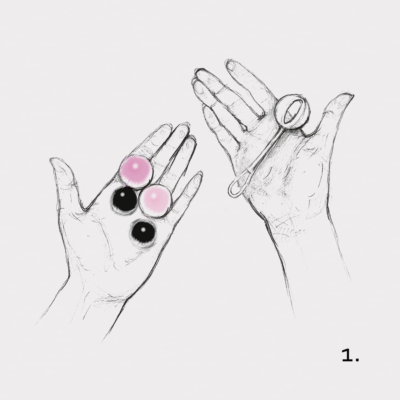 Gvibe Geisha Balls Magnetiс, Вагинальные Шарики - фото 18652