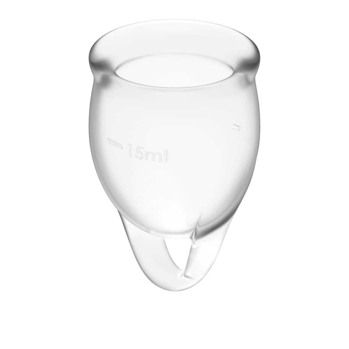 Satisfyer Feel Confident Menstrual Cup, Набор Менструальных Чаш - фото 18705