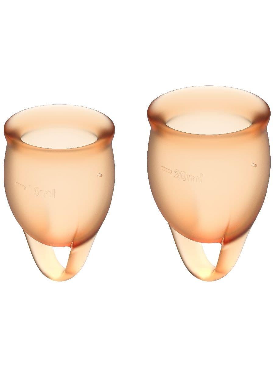 Satisfyer Feel Confident Menstrual Cup, Набор Менструальных Чаш - фото 18712