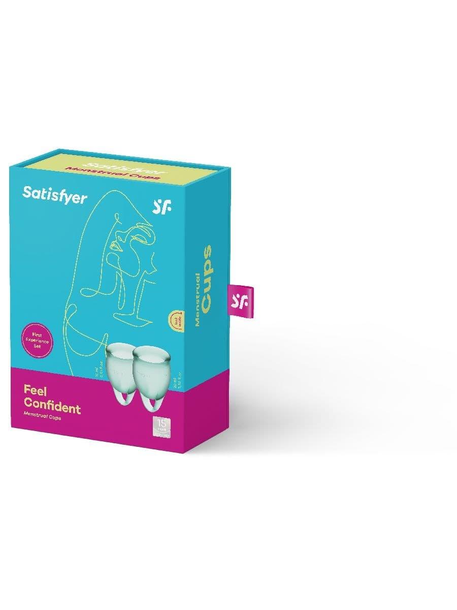 Satisfyer Feel Confident Menstrual Cup, Набор Менструальных Чаш - фото 18717