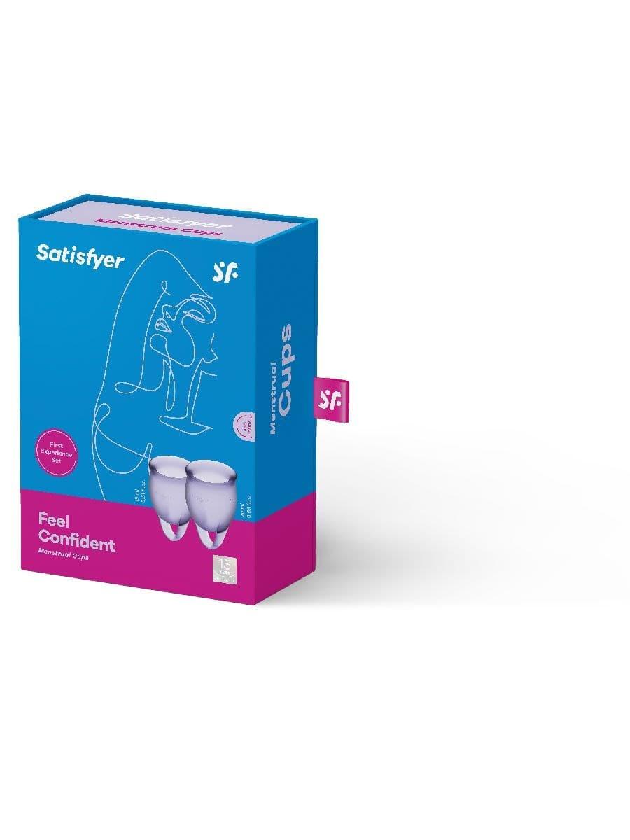 Satisfyer Feel Confident Menstrual Cup, Набор Менструальных Чаш - фото 18721