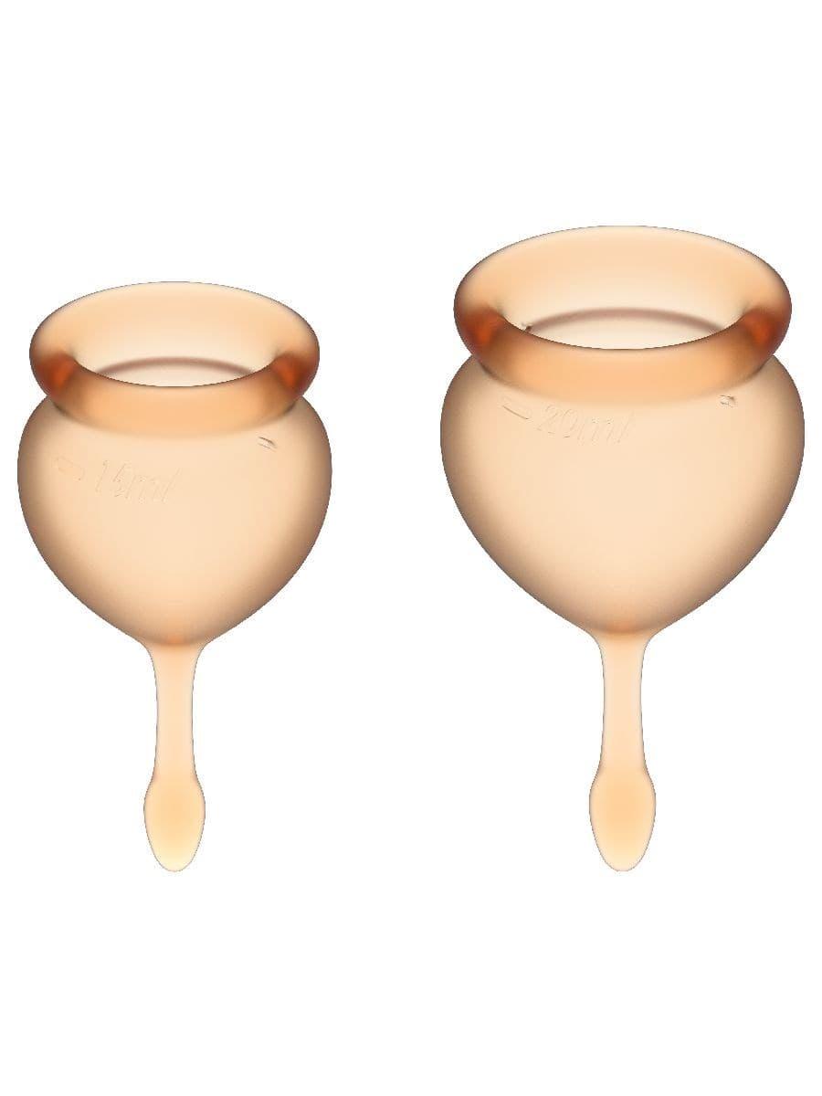 Satisfyer Feel Good Menstrual Cup, Набор Менструальных Чаш - фото 18730