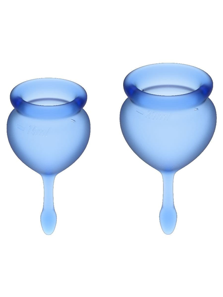 Satisfyer Feel Good Menstrual Cup, Набор Менструальных Чаш - фото 18734