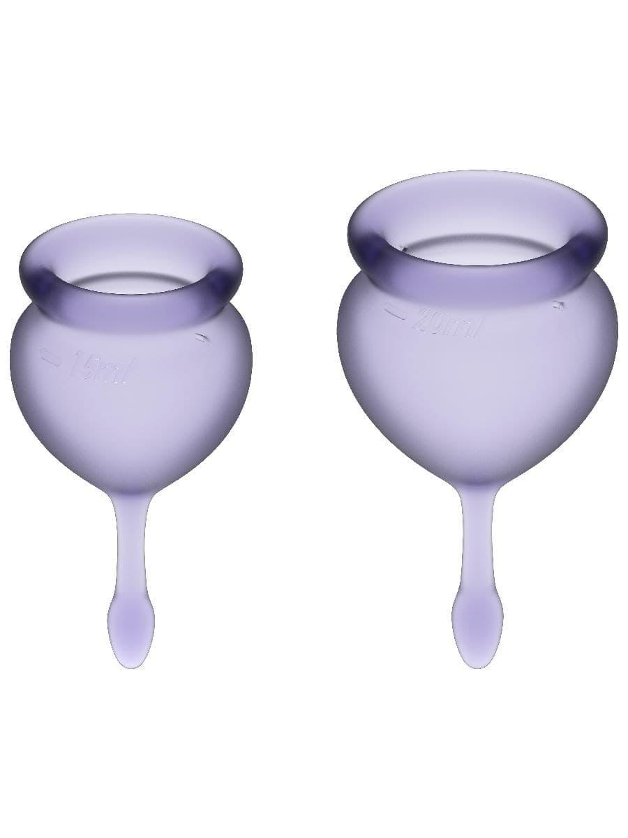 Satisfyer Feel Good Menstrual Cup, Набор Менструальных Чаш - фото 18742