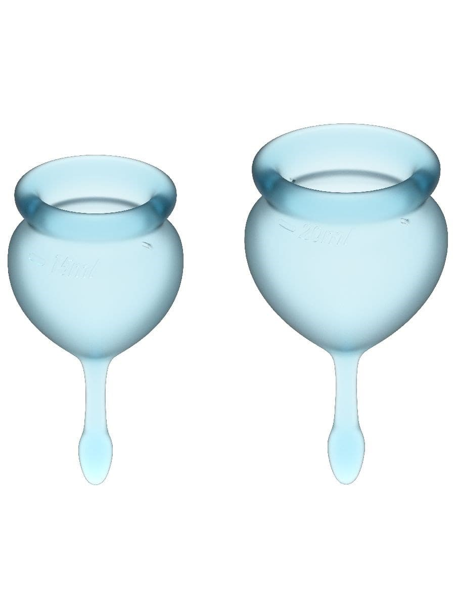 Satisfyer Feel Good Menstrual Cup, Набор Менструальных Чаш - фото 18746