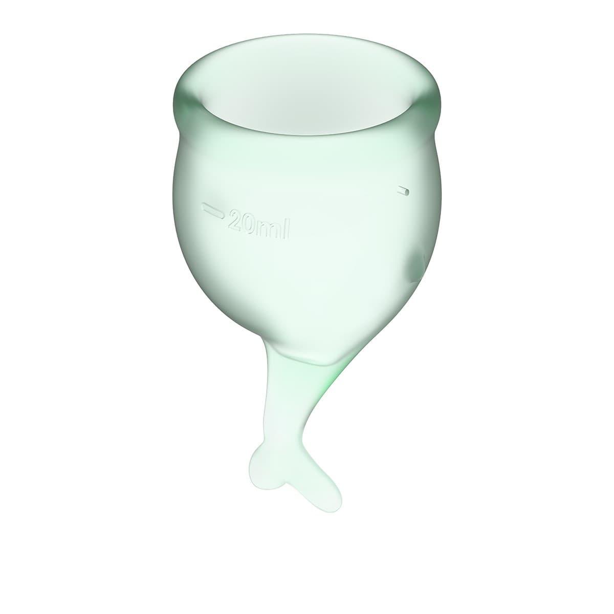 Satisfyer Feel Secure Menstrual Cup, Набор Менструальных Чаш - фото 18753