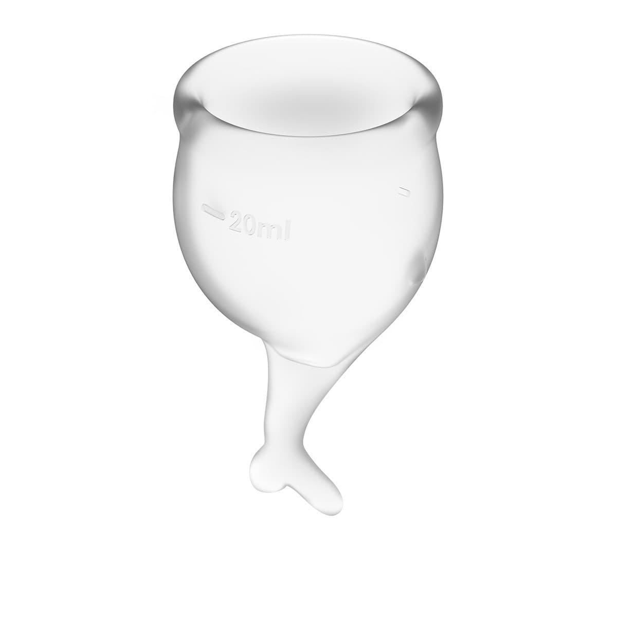 Satisfyer Feel Secure Menstrual Cup, Набор Менструальных Чаш - фото 18757