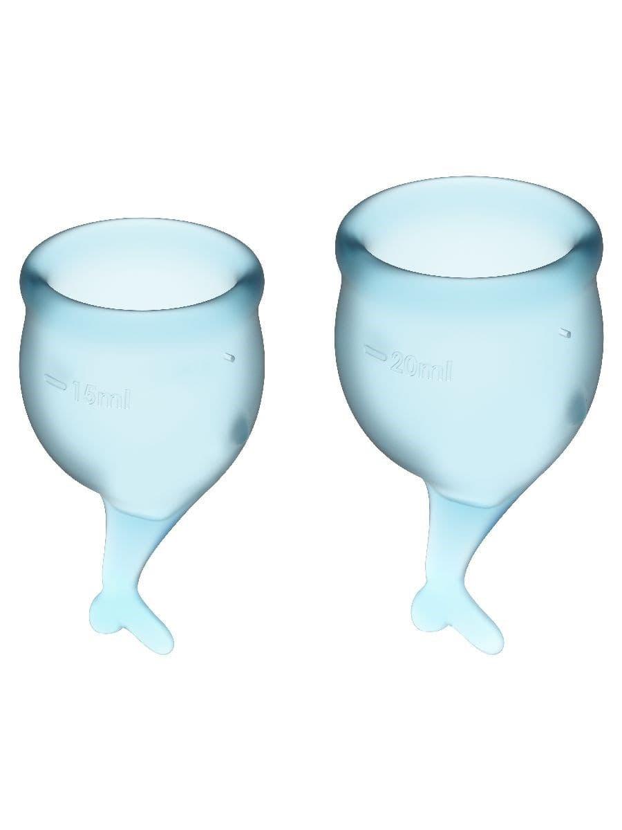 Satisfyer Feel Secure Menstrual Cup, Набор Менструальных Чаш - фото 18763