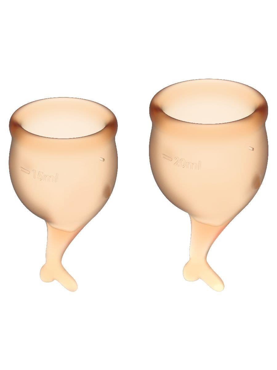 Satisfyer Feel Secure Menstrual Cup, Набор Менструальных Чаш - фото 18767