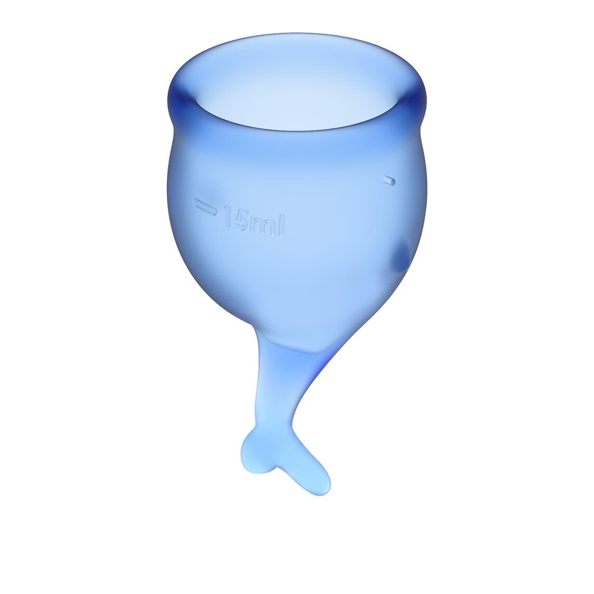 Satisfyer Feel Secure Menstrual Cup, Набор Менструальных Чаш - фото 18770