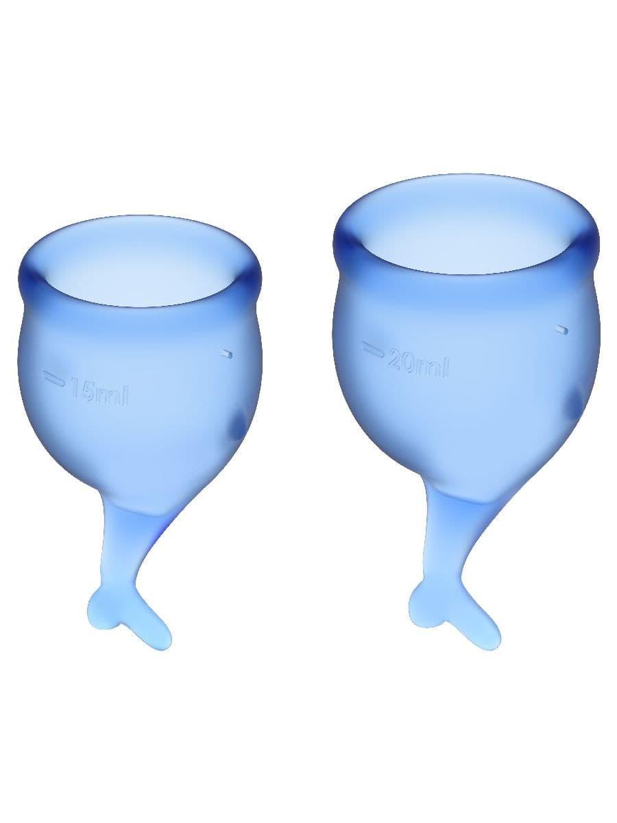 Satisfyer Feel Secure Menstrual Cup, Набор Менструальных Чаш - фото 18771
