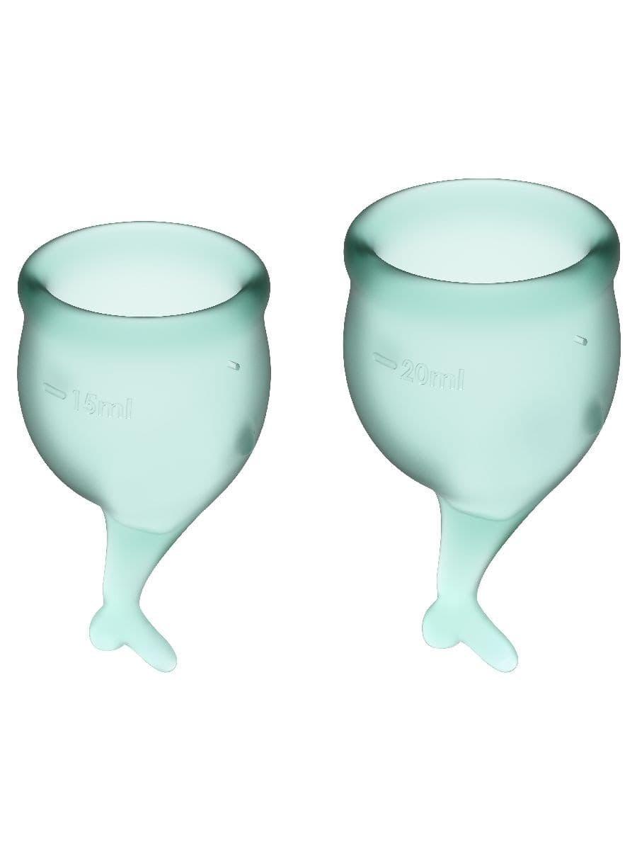 Satisfyer Feel Secure Menstrual Cup, Набор Менструальных Чаш - фото 18775