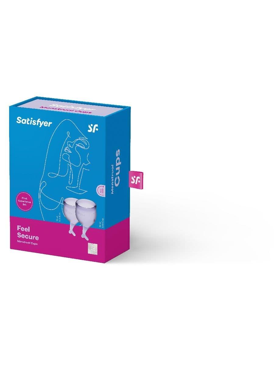 Satisfyer Feel Secure Menstrual Cup, Набор Менструальных Чаш - фото 18776