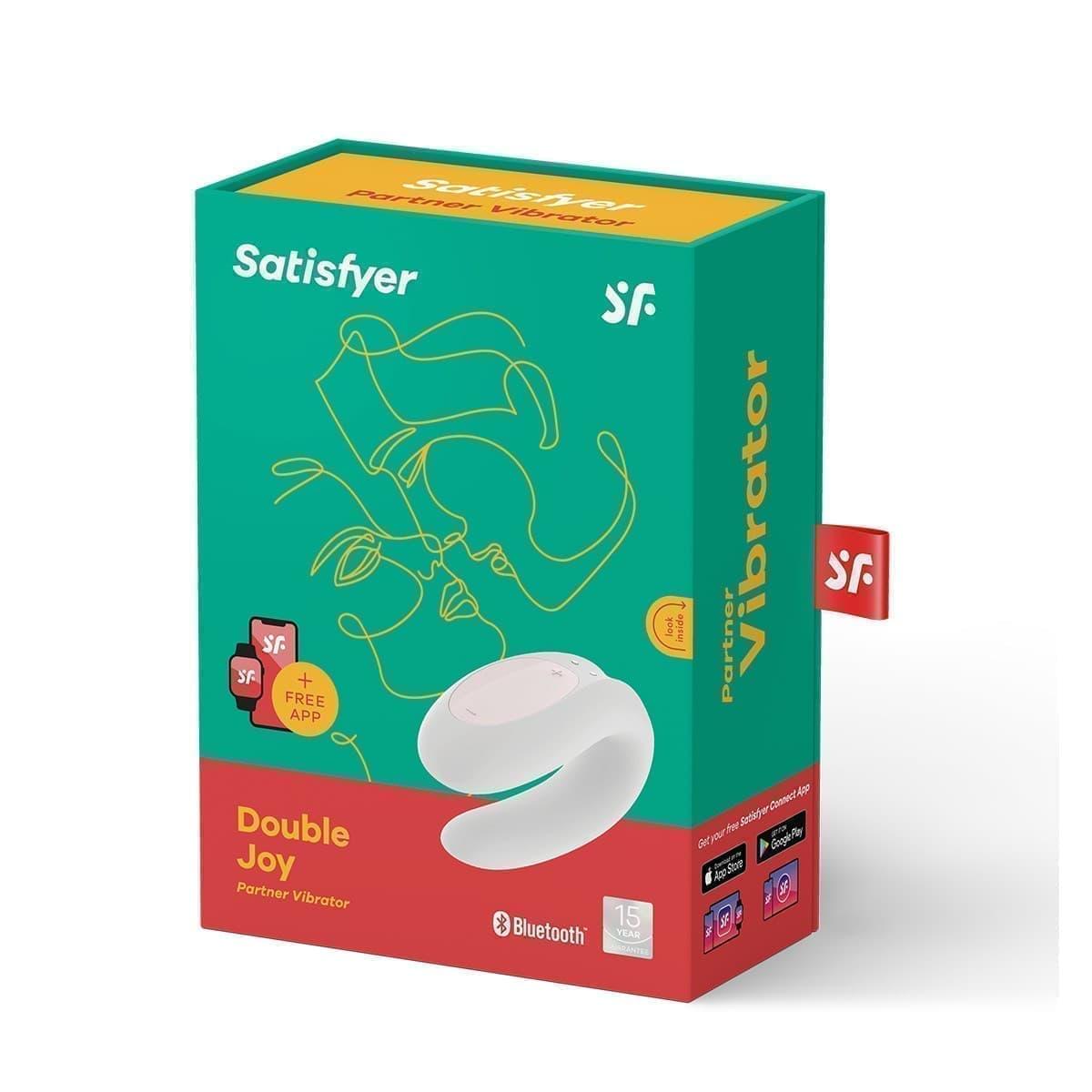 Satisfyer Double Joy, Вибратор Для Пар - фото 19005