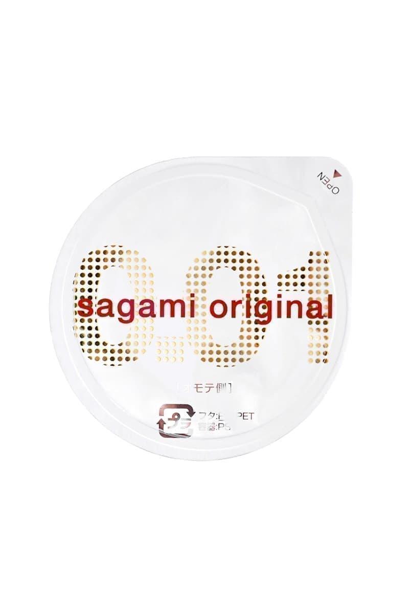 Sagami Original 0.01, Презервативы Полиуретановые - фото 19918
