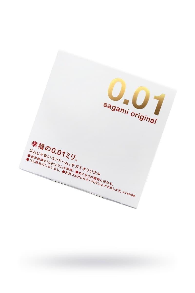 Sagami Original 0.01, Презервативы Полиуретановые - фото 19920