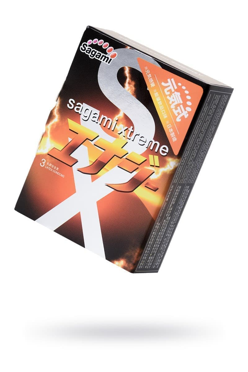 Презервативы Sagami Xtreme ENERGY - фото 19970