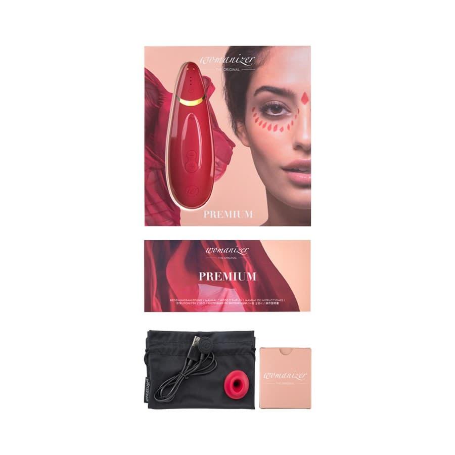 Womanizer Premium, Вакуумный Стимулятор Клитора - фото 21178