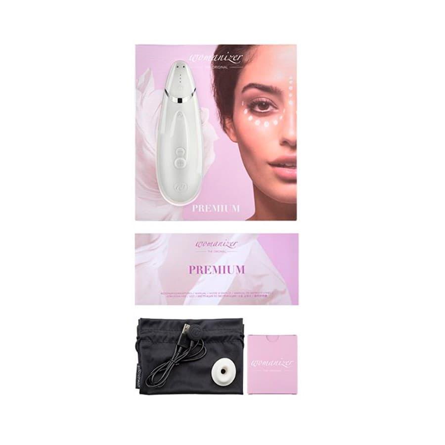 Womanizer Premium, Вакуумный Стимулятор Клитора - фото 21189
