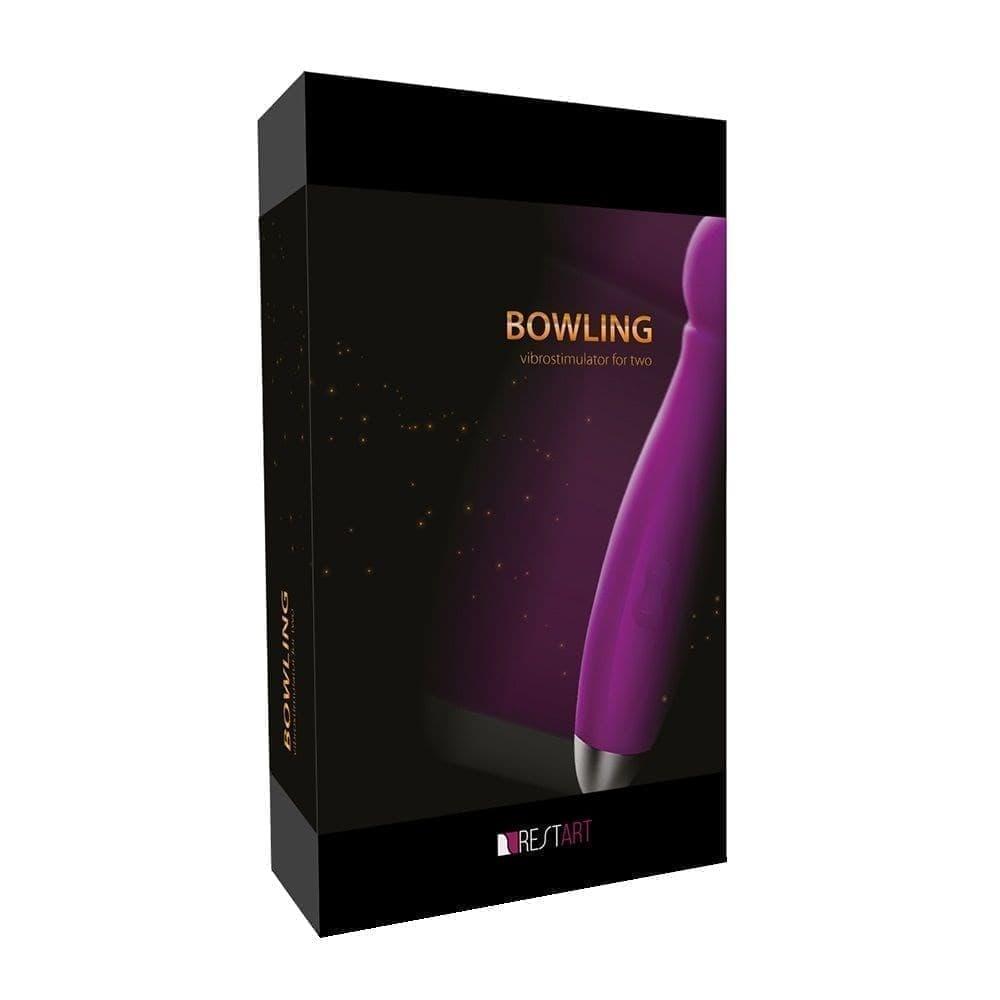 Вибратор Bowling с насадками - фото 4958