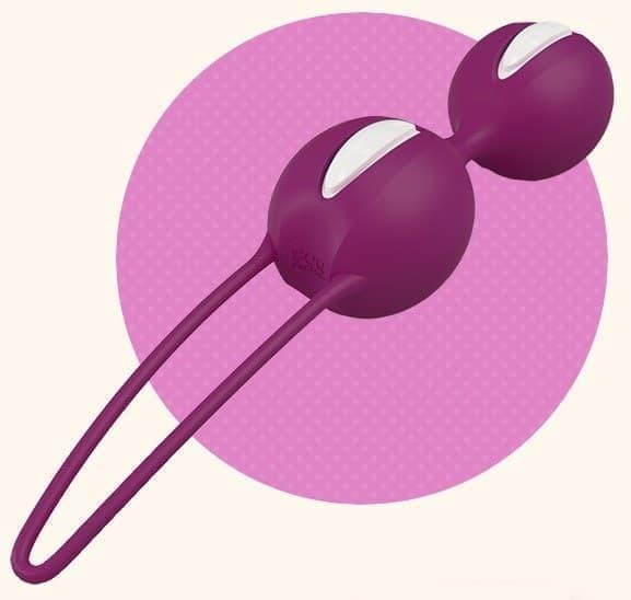 Вагинальные шарики SMARTBALLS DUO - фото 5222