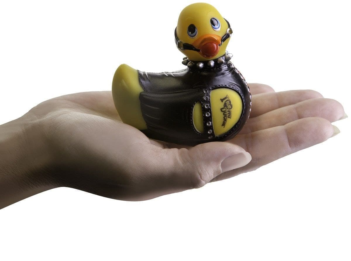 Вибратор-уточка I Rub My Duckie Bondage Travel Size - фото 7454