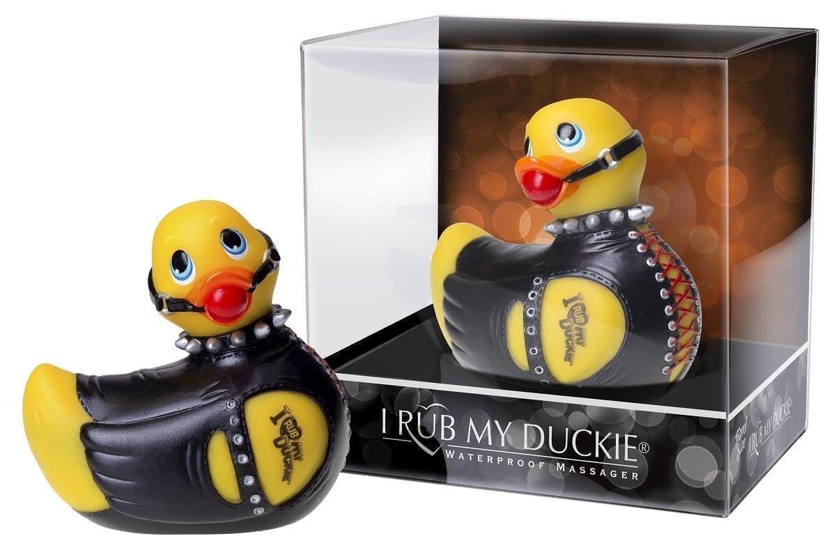 Вибратор-уточка I Rub My Duckie Bondage Travel Size - фото 7455