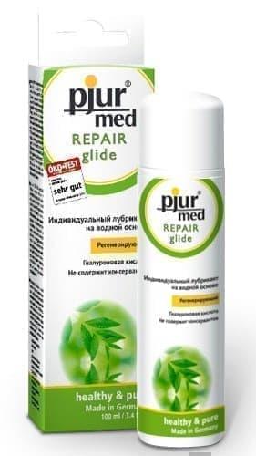 Регенирирующий лубрикант с гиалуроновой кислотой Pjur MED Repair glide