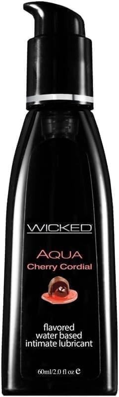Лубрикант Wicked Aqua Cherry Cordial