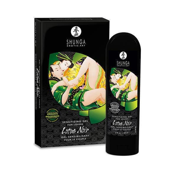 Shunga Lotus Noir, Возбуждающий Гель