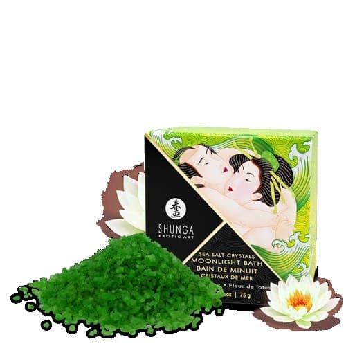 Shunga Moonlight Bath Lotus Flower, Соль Для Ванны (75)