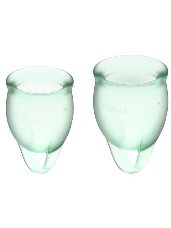 Satisfyer Feel Confident Menstrual Cup, Набор Менструальных Чаш