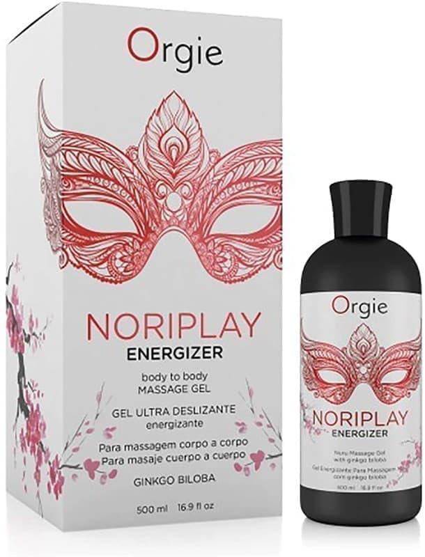 Orgie Noriplay Energizing Nuru Massage, Массажное Масло
